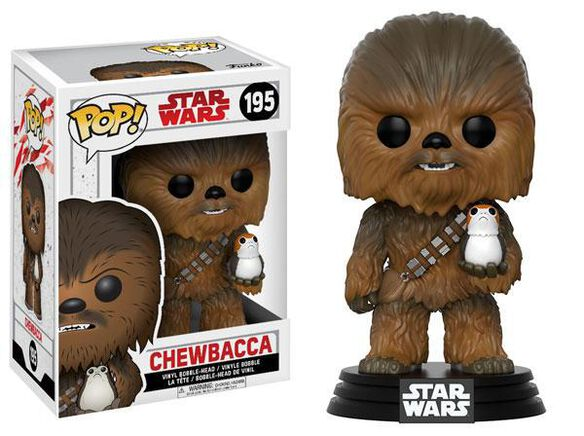 Funko Pop! Star Wars: EP8 - Chewbacca
