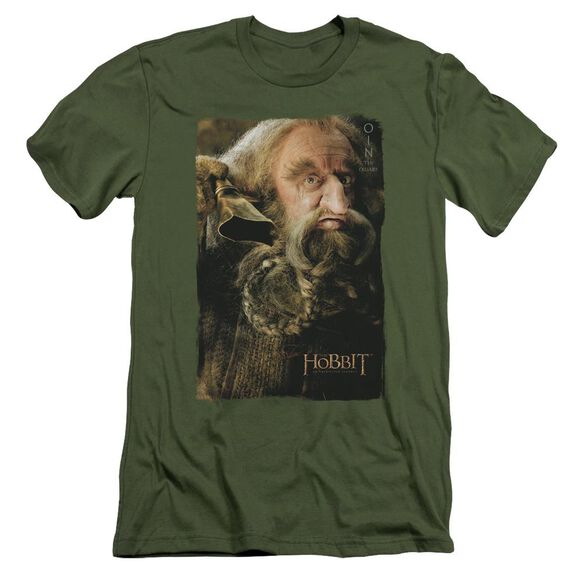 The Hobbit Oin Short Sleeve Adult Military T-Shirt