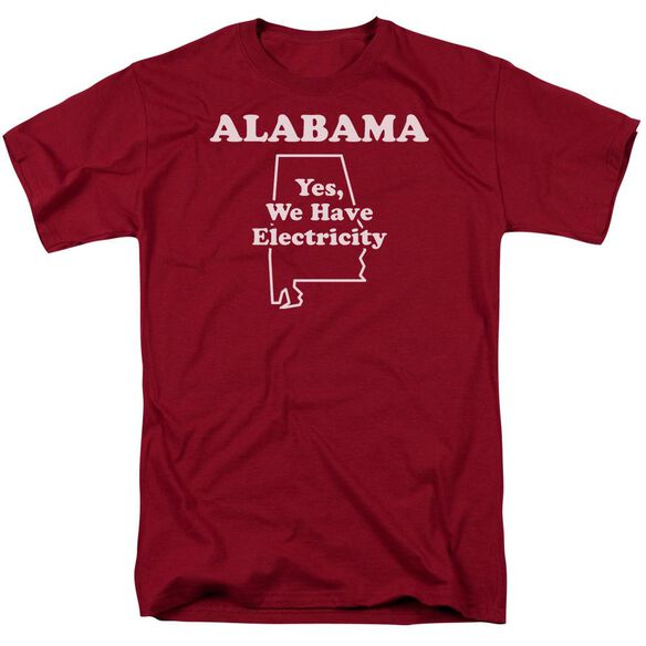Alabama Short Sleeve Adult Cardinal T-Shirt