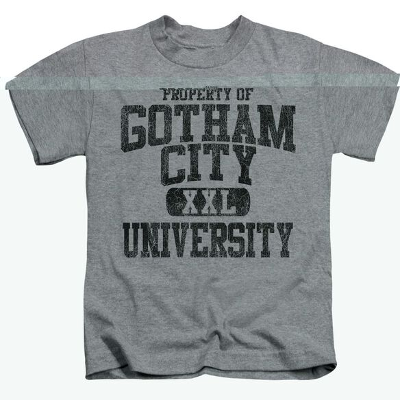 BATMAN PROPERTY OF GCU - S/S JUVENILE 18/1 - ATHLETIC HEATHER - T-Shirt
