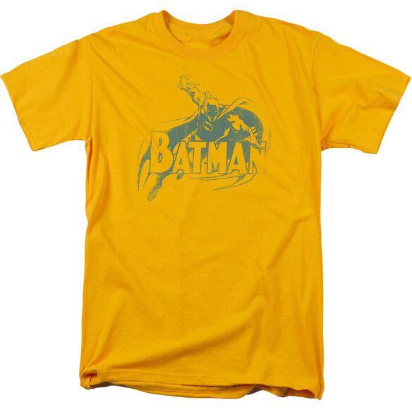 Batman Heres Batman Short Sleeve Adult T-Shirt