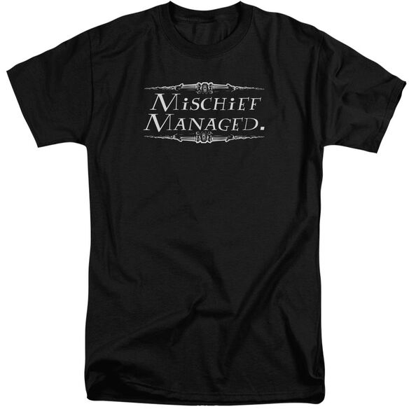Harry Potter Mischief Managed Short Sleeve Adult Tall T-Shirt