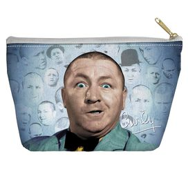 Three Stooges Curly Heads Accessory Pouch
