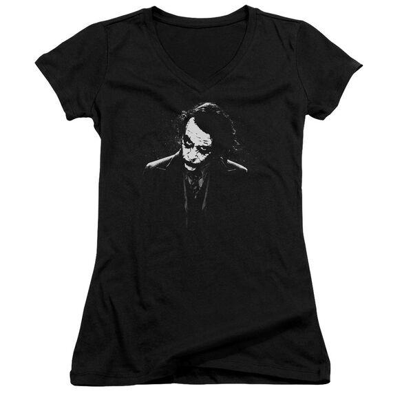 Dark Knight Dark Joker Junior V Neck T-Shirt
