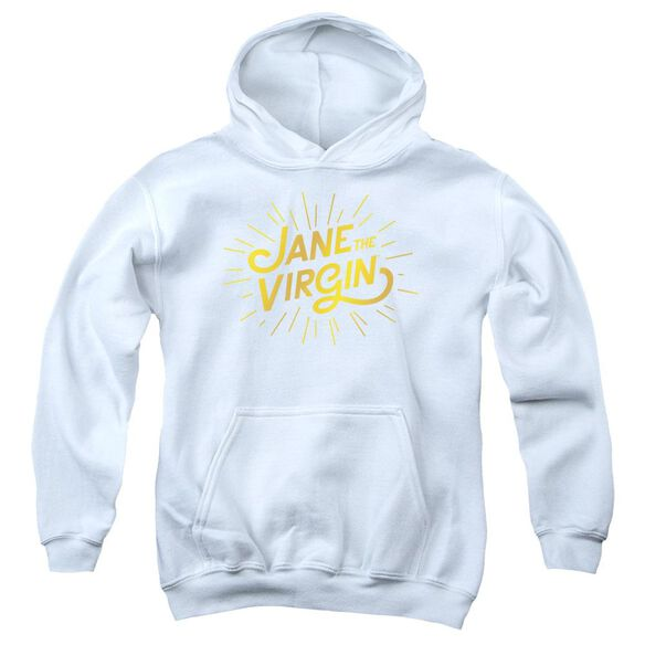 Jane The Virgin Golden Logo Youth Pull Over Hoodie