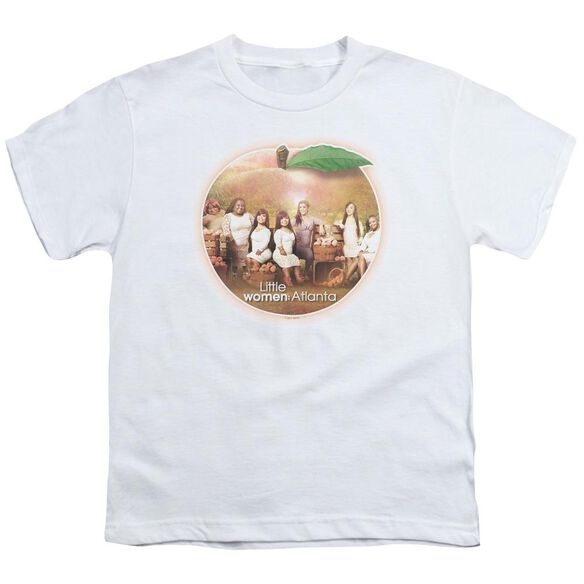 Little Women Atlanta Peach Pie Short Sleeve Youth T-Shirt