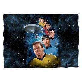 Star Trek Among The Stars Pillow Case White