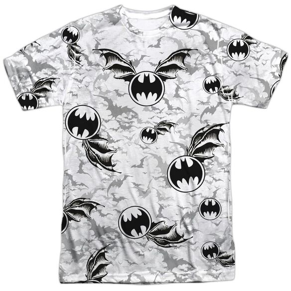 Batman Bat Flight Short Sleeve Adult 100% Poly Crew T-Shirt