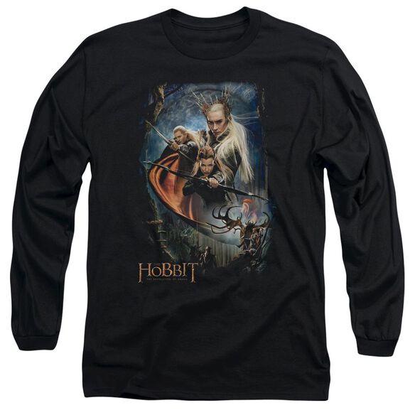 Hobbit Thranduil's Realm Long Sleeve Adult T-Shirt