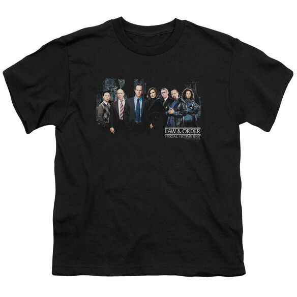 Law And Order Svu Cast Short Sleeve Youth T-Shirt
