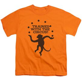 Trained With The Circus Short Sleeve Youth T-Shirt