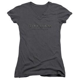 Gotham Logo Junior V Neck T-Shirt
