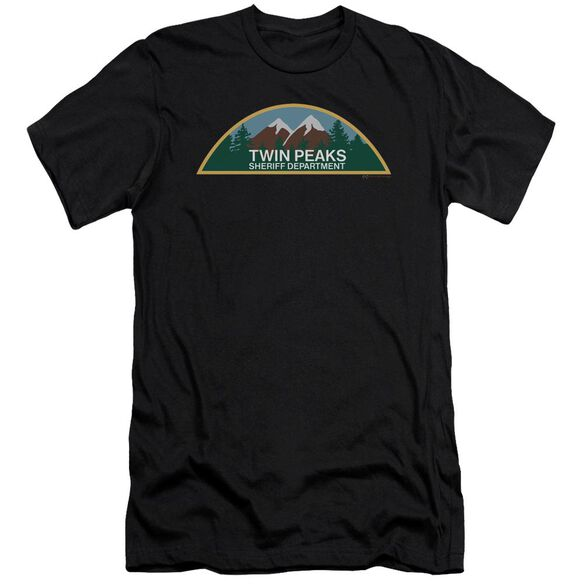 Twin Peaks Sheriff Department Hbo Short Sleeve Adult T-Shirt