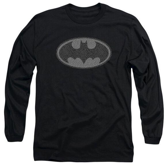 Batman Elephant Signal Long Sleeve Adult T-Shirt