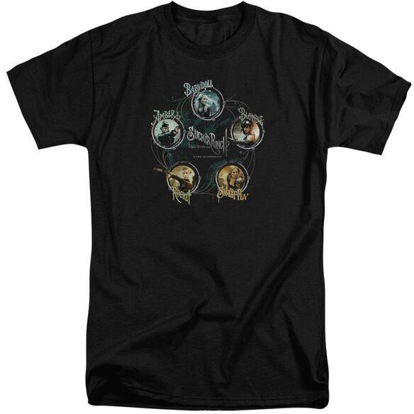 Sucker Punch Circles Short Sleeve Adult Tall T-Shirt