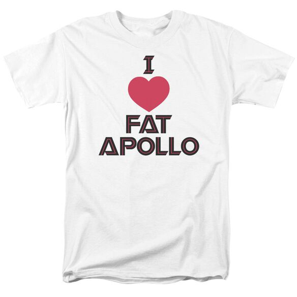 Bsg I Heart Fat Apollo Short Sleeve Adult T-Shirt