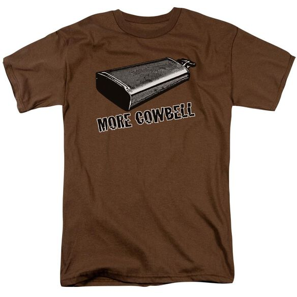 More Cowbell Short Sleeve Adult T-Shirt