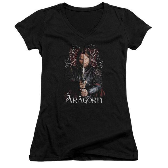 Lor Aragorn Junior V Neck T-Shirt