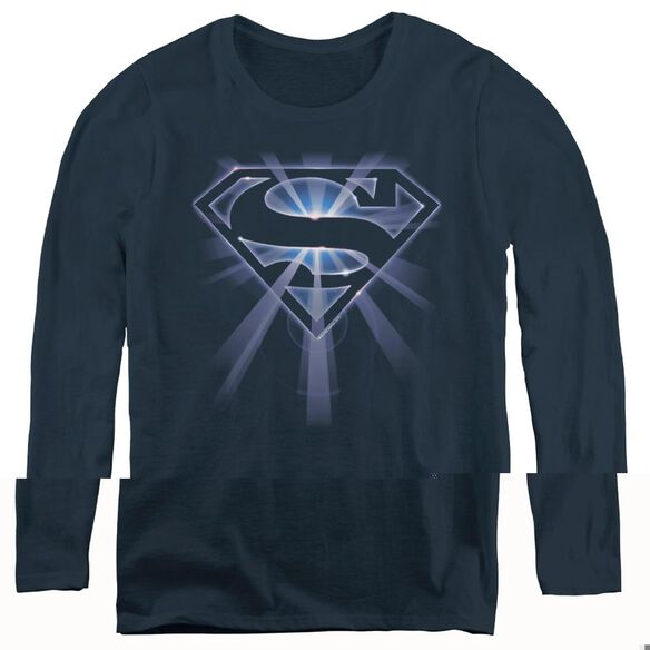 Superman Glowing Shield-womens Long