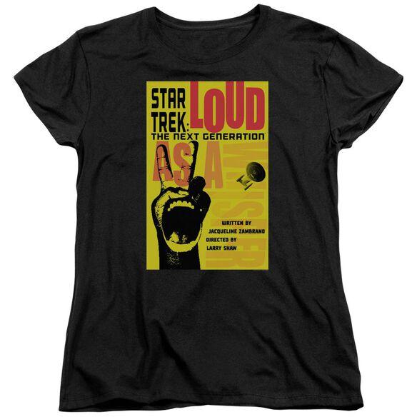 Star Trek Tng Season Episode 5 Short Sleeve Womens Tee T-Shirt