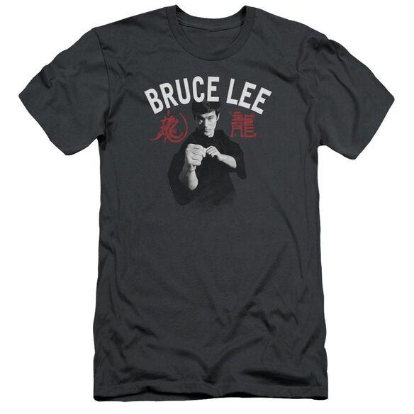 Bruce Lee Ready Short Sleeve Adult T-Shirt