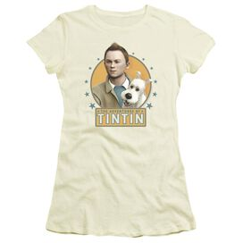 Tintin Buddies Short Sleeve Junior Sheer T-Shirt