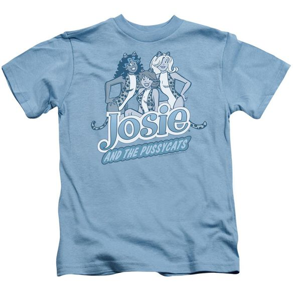 Archie Comics Glamour Girls Short Sleeve Juvenile Carolina Blue T-Shirt