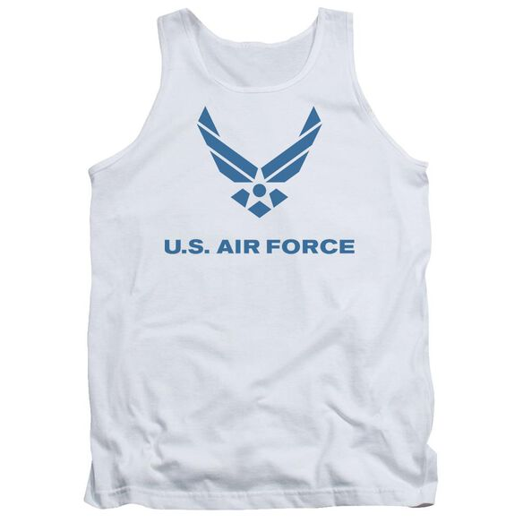 Air Force Distressed Logo Adult Tank