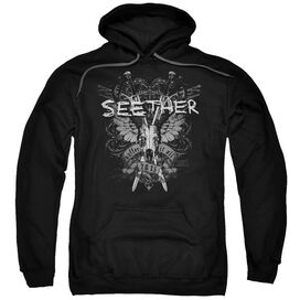 Seether Suffer Adult Pull Over Hoodie
