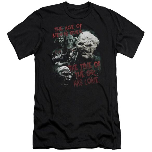 Lor Time Of The Orc Short Sleeve Adult T-Shirt