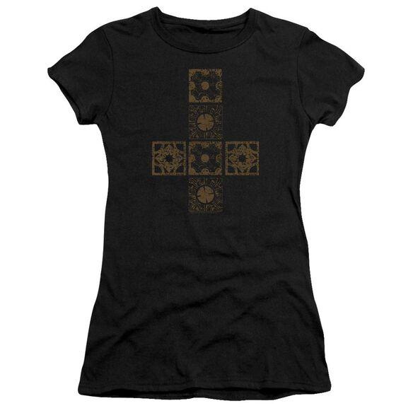 Hellraiser Lemarchands Puzzle Box Short Sleeve Junior Sheer T-Shirt