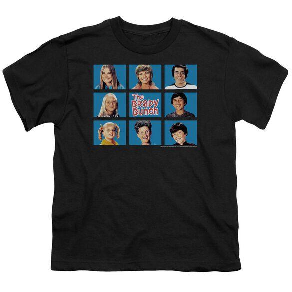 BRADY BUNCH FRAMED - S/S YOUTH 18/1 - BLACK T-Shirt