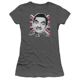 Mr Bean Long Live Short Sleeve Junior Sheer T-Shirt