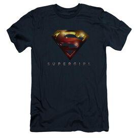 Supergirl Logo Glare Short Sleeve Adult T-Shirt