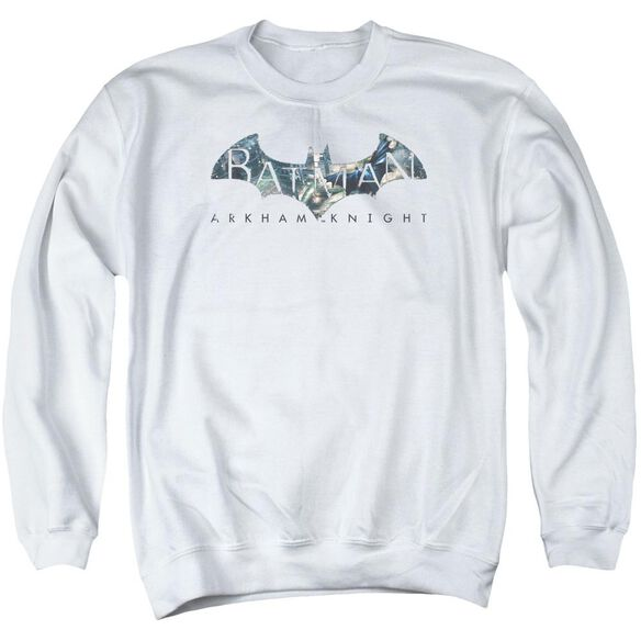Batman Arkham Knight Descending Logo Adult Crewneck Sweatshirt