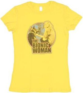 Bionic Woman Jaime Baby Tee