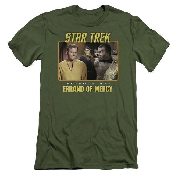 St Original Episode 27 Short Sleeve Adult Military T-Shirt