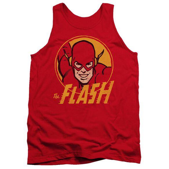 Dc Flash Flash Circle Adult Tank