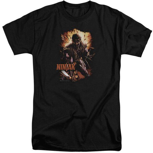 Ninjak Fiery Ninjak Short Sleeve Adult Tall T-Shirt