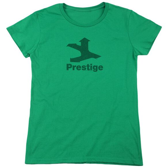 Prestige Prestige Logo Short Sleeve Womens Tee Kelly T-Shirt