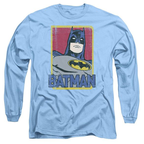 Batman Primary Long Sleeve Adult Carolina T-Shirt