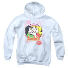 Archie Comics Kisses For Archie Youth Pull Over Hoodie