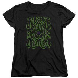 WARHEAD OUR POWER - S/S WOMENS TEE - BLACK T-Shirt