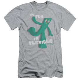 Gumby Flex Short Sleeve Adult Athletic T-Shirt