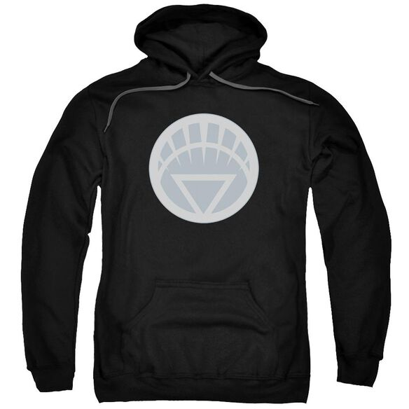 Green Lantern White Symbol Adult Pull Over Hoodie