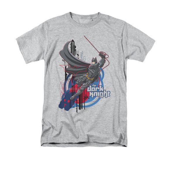 Dark Knight Swinging Dark Knight Short Sleeve Adult Athletic T-Shirt