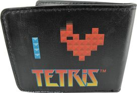 Tetris I Heart Wallet