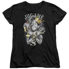 ARCHIE COMICS JUG LIFE - S/S WOMENS TEE - BLACK T-Shirt