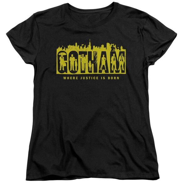 Gotham Silhouettes Short Sleeve Women's Tee T-Shirt