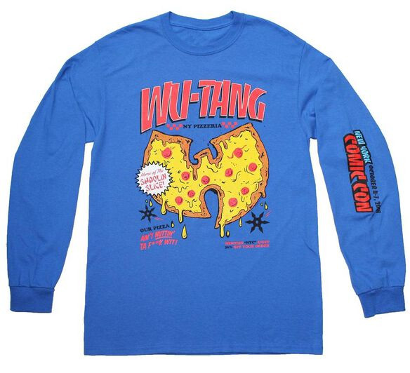 Wu-Tang NY Pizzeria NYCC 2018 LS T-Shirt